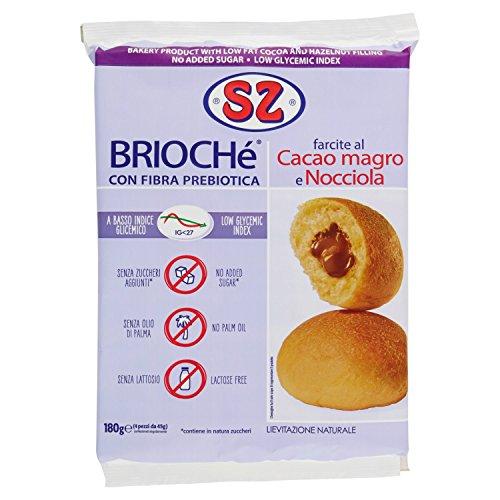 Sz - Senza Zucchero Merende Cacao e Nocciola - 180 G