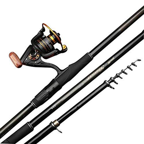 William 337 Canna da Pesca Long Section Positioning Fish Rod Ultra Light Super Hard 6.3 Metri Ruota Anteriore in Metallo Confezione Regalo 17 Pezzi (Size : 4.5m 4Festival)