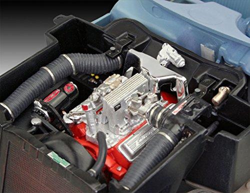Revell 80-7037 Modellbausatz Auto - 58 Corvette Roadster im Maßstab 1:25, Level 4, originalgetreue Nachbildung mit vielen Details, 7037