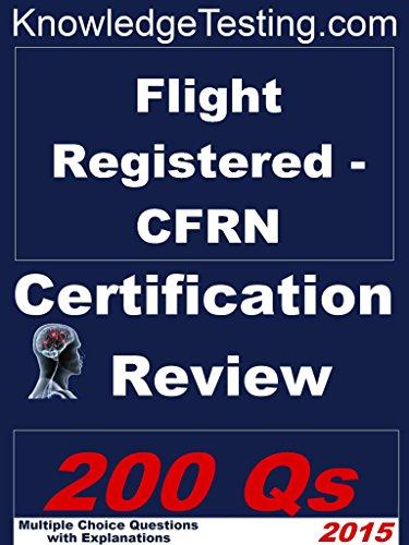 517XLmD+B3L - Flight Registered - CFRN Certification Review (Certification in Flight Registered Nursing Book 1)