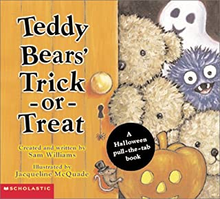 Teddy Bears' Trick-or-Treat:  A Halloween Pull-the-Tab Book