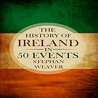 The History of Ireland in 50 Events audiobook cover art
