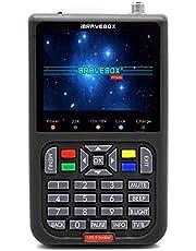 Scienish V8 Finder Digital Satellite Finder with 3.5 Inch LCD Digital Display