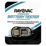 Rayovac Batterietester (für Hörgerätebatterien mit Batterieaufbewahrungsbox)