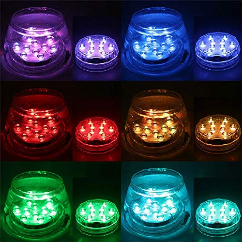 8X Remote Control Color Colored LED Light Boundery Style Waterproof EFX Accent
