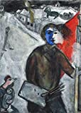 Chagall Marc Unnamed 6 p899 A2 Poster - Art Painting Decor