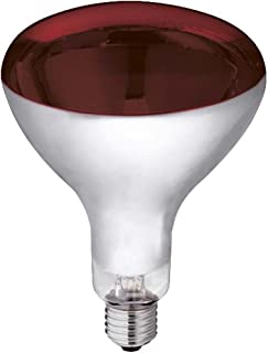 Kerbl 22244 Lampe infrarouge en verre trempé 150 W Rouge