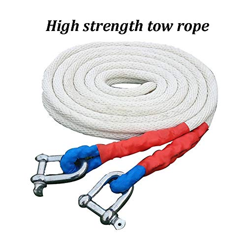 Amazing Deal Gjjtcd Vehicle Trailer Rope-Car Tow Rope Emergency Rescue Strap Outdoor Off-Road Traile...