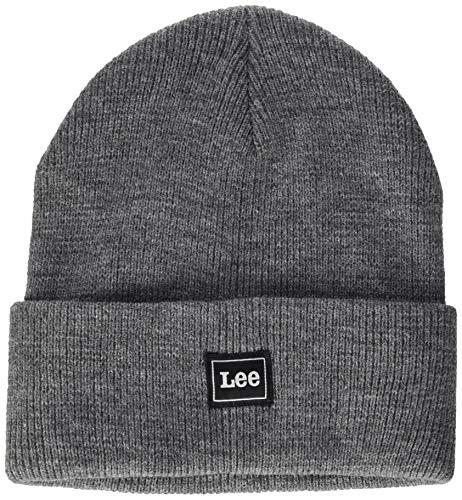 Lee Mens CORE Beanie Hat, Dark Grey MELE, OS