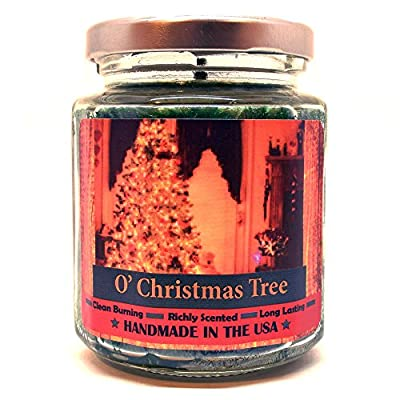 O' Christmas Tree, Super Scented Natural Wax Candle