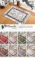 イタリア製ゴブラン織マット 65×90cm 玄関マット 廊下敷き ゴブラン織 7