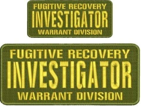 Embroidered Patch - Patches Bargain sale for Outlet ☆ Free Shipping Fugitive Man Recovery In Women