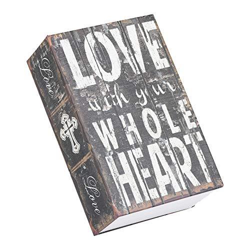 Money Cash Secret Creative Boek, opbergdoos uit de sieradencollectie met cijferslot Liefde