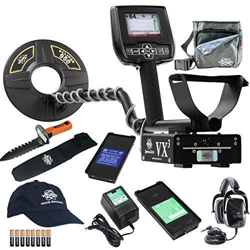 Spectra VX3 Whites Metal Detector Geared UP Bundle