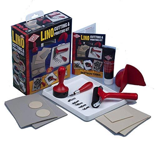 ESSDEE Lino Schneid- und Druckset, Multi, Einheitsgröße