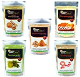 Online Quality Store multani mitti for face,chandan powder for face pack,orange peel powder
