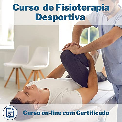 Curso Online em videoaula de Fisioterapia Desportiva com Certificado + 2 brindes
