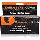 Best Numbing Creams - Deeveeant Numbing Cream Lidocaine Anesthetic (2oz/56g) Topical Pain Review
