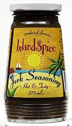 Island Spice Jamaican Jerk Seasoning Marinade, 12 oz