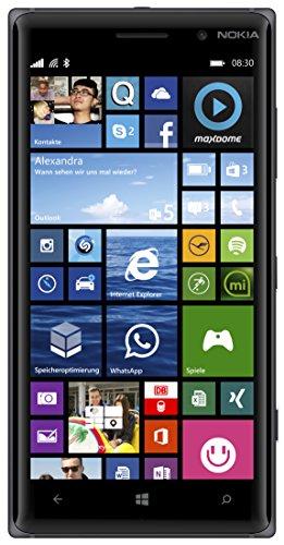 Microsoft Lumia 830 Smartphone (5 Zoll (12,7 cm) Touch-Display, 16 GB Speicher, Windows 8.1) schwarz