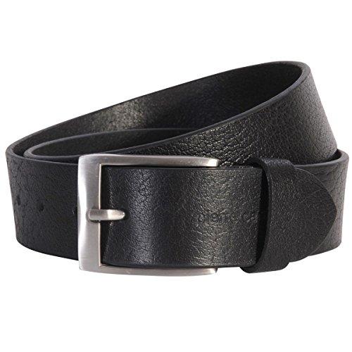 Pierre Cardin Ledergürtel Herren/Gürtel Herren Vollrindleder-Gürtel, schwarz, Größe/Size:95, Farbe/Color:schwarz