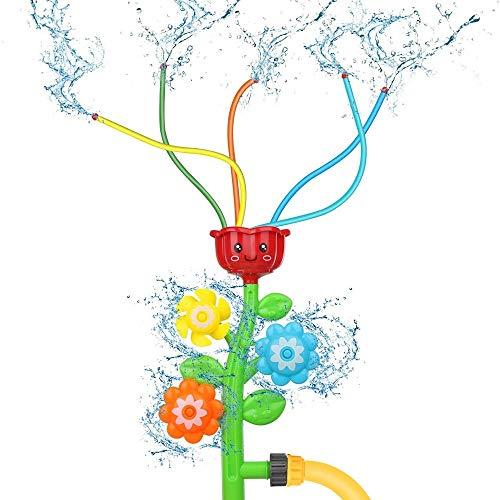 KCSds Cartoon Fiori spruzzatore Splash Fuori Giochi d'Acqua for i Bambini Backyard Tavolo Acqua Ginormous Float Yard Garden Party dello spruzzo d'Acqua Family Fun Balneazione Divertente Bathtime