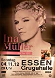 Ina Müller - Essen 2012 - Veranstaltungs-Poster A1-35