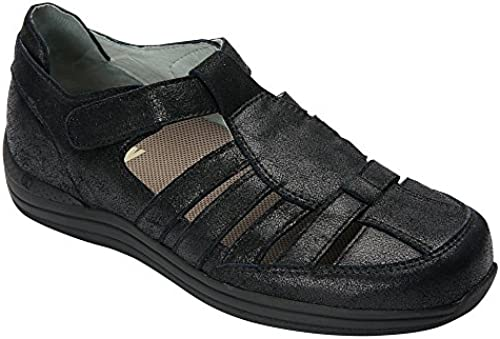 Drew schuhe damen& 39;s Ginger Leather Casual Sandals