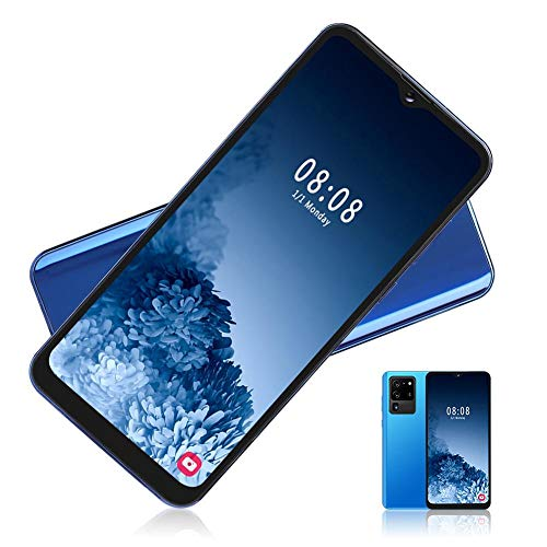 Unlocked Smart Phone, Fingerprint & Face Recognition Smartphone, 6.7In Face Unlock Cellphone Mobile Phone Intelligent Phones for Android 9.1, 8MP+13MP, Dual Cards Dual Standby(EU)