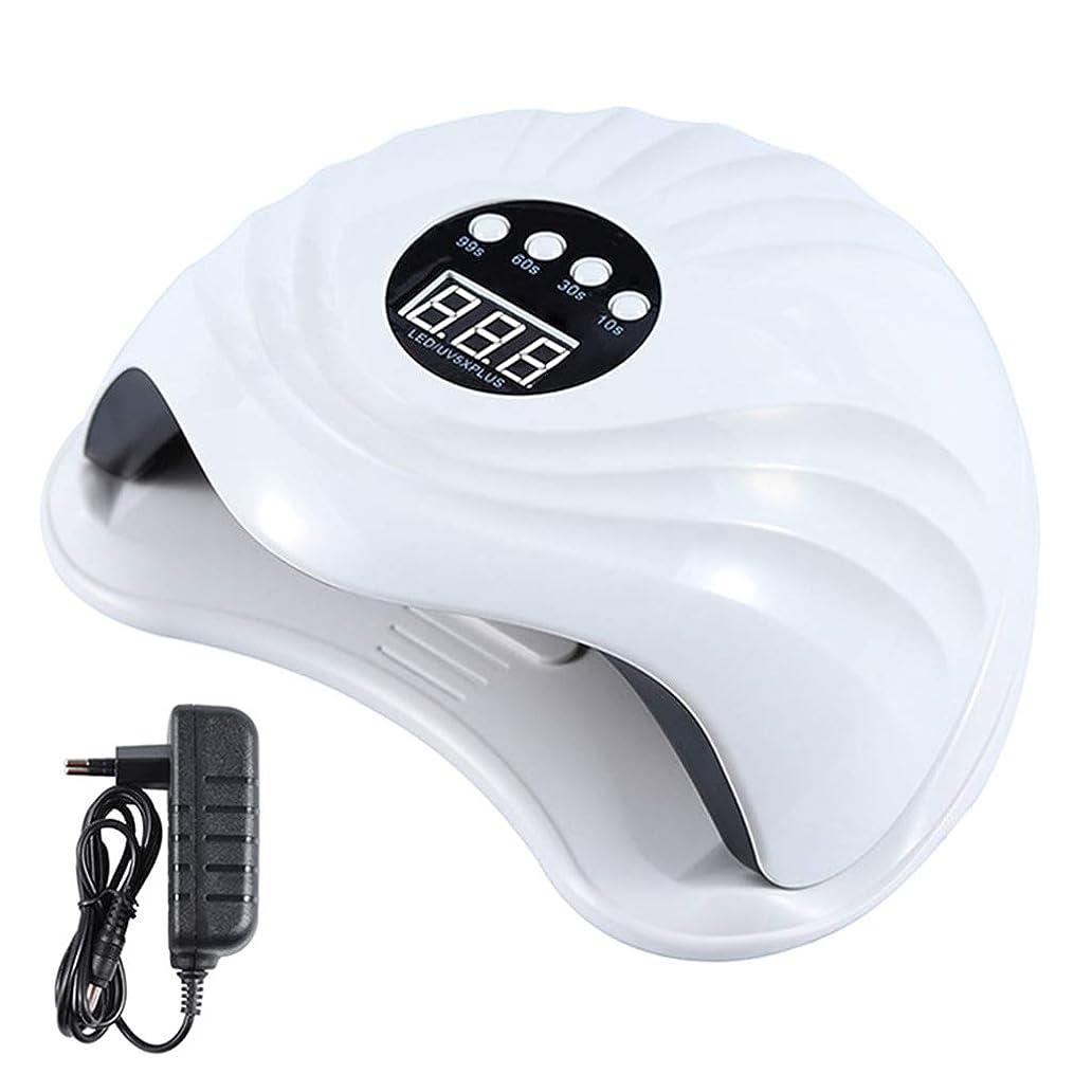 願望ペン批判YHSUNN Sun5x Plus UVネイルセラピーマシンランプライト108ワット36 LEDタイマーレスマニキュアツール付き痛みのないセラピージェルポリッシュドライヤー