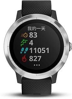GARMIN 佳明 vivoactive3 酷炫黑 光电心率GPS双星跑步骑行游泳运动触屏腕表 健康监测智能通知在线支付时尚情侣手表(表盘尺寸1.2'')
