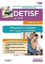 DETISF - Domaines de compétences 1 à 6 - Préparation complète pour réussir sa formation - Diplôme d'État de Technicien de l'intervention sociale et familiale d'Agnès Fostel