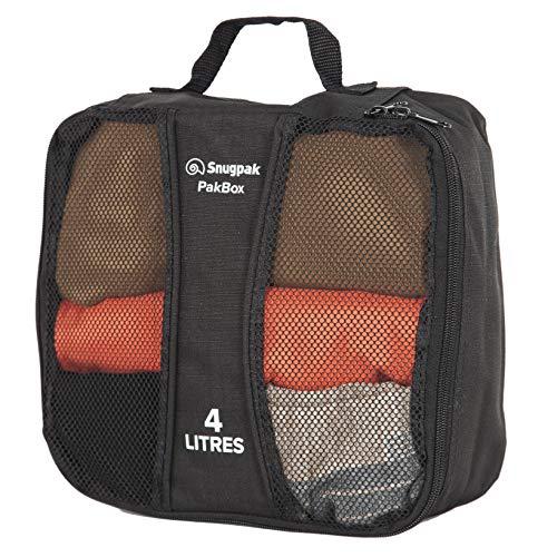 Snugpak | PakBox | Perfect for organising Clothing, Equipment and Accessories (Black, 6L)
