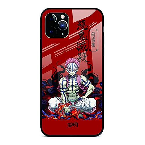 Demon Slayer Phone Case para iPhone 12 iPhone 12 Pro/Pro MAX Ultra-Thin Soft TPU Glass Bumper Protective-12 Pro-Demon_Slayer_For_iPhone_7_Plus