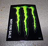 Monster Energy Drink Decal Sticker'4 x 3 inches'