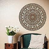 Mandala de pared estudio de yoga mandala de vinilo patrón marroquí pared de estilo boho