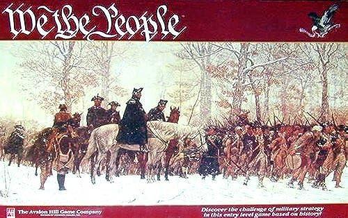 ¡No dudes! ¡Compra ahora! AH  We the the the People Boardgame by AH Avalon Hill  bienvenido a comprar