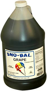 Benchmark USA Snowcone Syrup Grape Model Number 72003