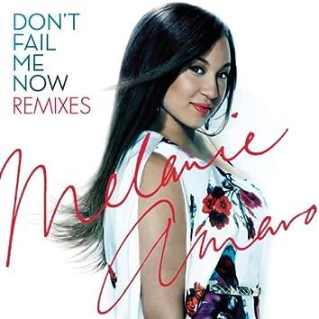 Don't Fail Me Now - Remixes