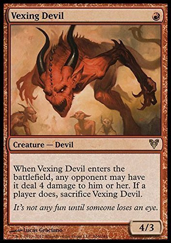 Magic The Gathering - Vexing Devil (164) - Avacyn Restored