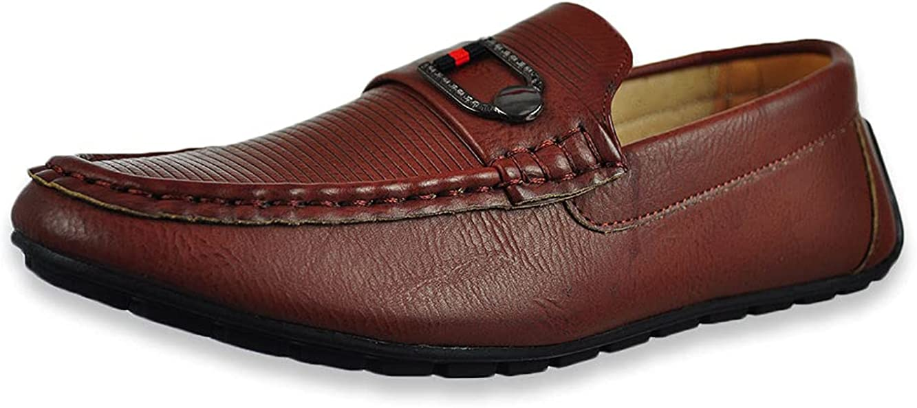 Mario Lopez Boys' Perry Slip-On Driving Moccasins