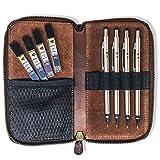MstrSktch Mechanical Drawing Pencils for Artists - Set 8pc Leather