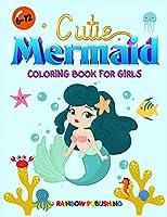 Cutie Mermaid Coloring book for girls