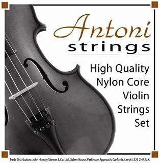 Antoni AVS011S Violin String Set 1/8&1/16