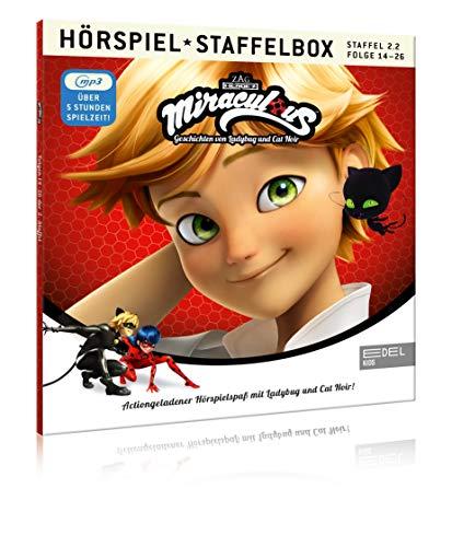 Miraculous - Geschichten von Ladybug & Cat Noir - mp3-Staffelbox 2.2 [Exklusiv bei Amazon] - Das Original-Hörspiel zur TV-Serie (Folgen 14 - 26)