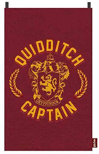 Harry Potter - Kinder Badetuch - Gryffindor - Quidditch Captain