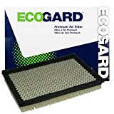 ECOGARD XA5414 Premium Engine Air Filter Fits Jeep Liberty 3.7L 2002-2007, Grand Cherokee 3.7L 2005-2010, Grand Cherokee 4.7L 2005-2009, Commander 3.7L 2006-2010, Grand Cherokee 5.7L 2005-2010