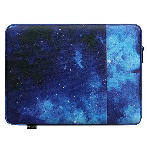 Dadanism 13.3 Zoll Laptophülle Notebook Hülle Tasche für iPad Pro 12.9 2020/2018, New MacBook Air/Pro 13