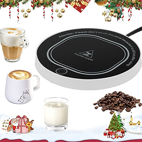 Coffee Cup Warmer for Desk with Auto Shut Off, Coffee Mug Warmer for Desk Office Home
