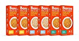 BANZA Chickpea Mac and Cheese Variety Pack High Protein, Gluten Free Mac and Cheese, Healthy Macaroni (Pack of 6) Variety Case